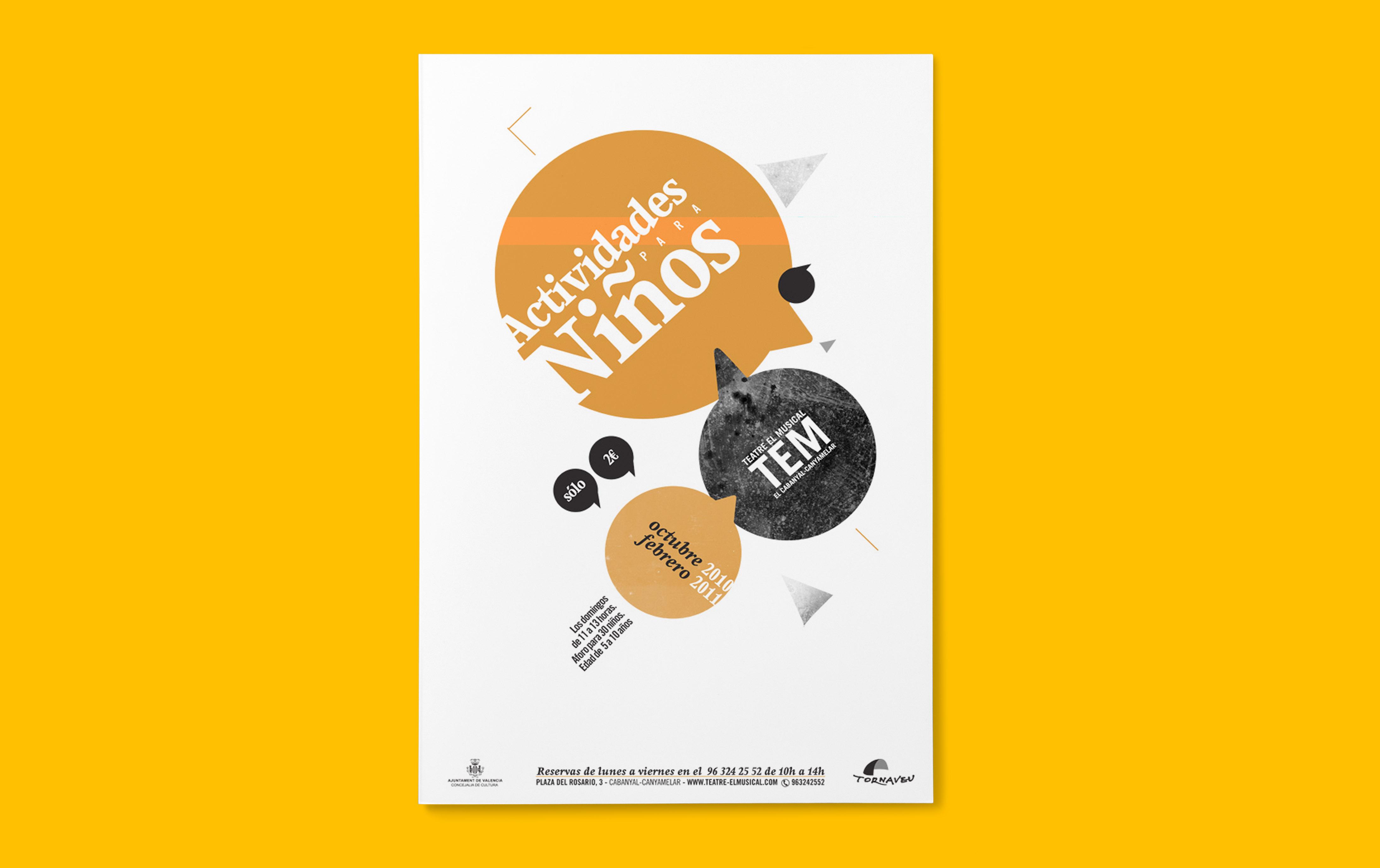 Diseño de poster para TEM