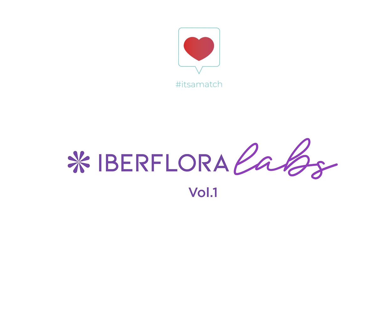 logotipo iberflora labs